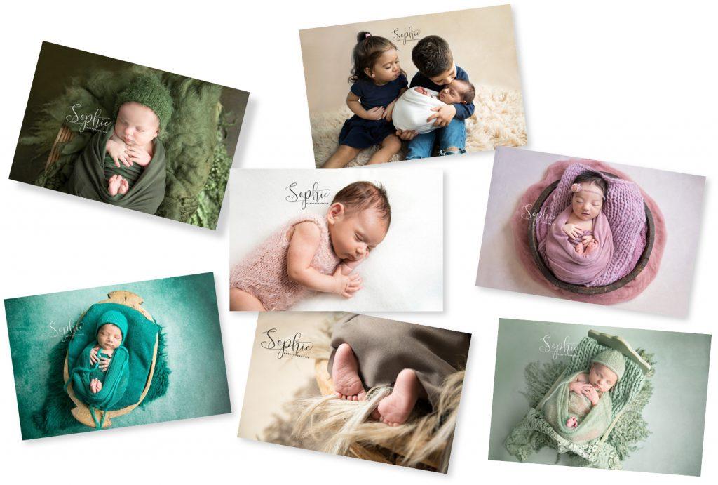 newborn shoot eindhoven collage